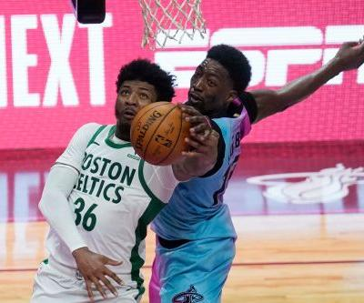 Celtics, Heat are two teams moving in opposite directions