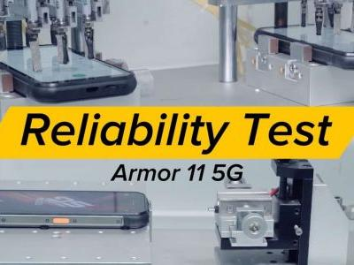 Ulefone Shows Armor 11 5G Factory Quality Tests: Video