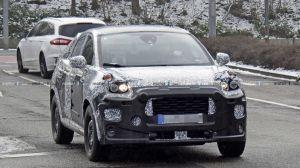 Fords Mystery Compact SUV Prototype Spied Testing in Europe
