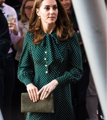 Even Kate Can't Resist the One Dress That Has Invaded Zara This Year