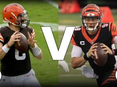What channel is Browns vs. Bengals on today? Schedule, time for 'Thursday Night Football' in Week 2
