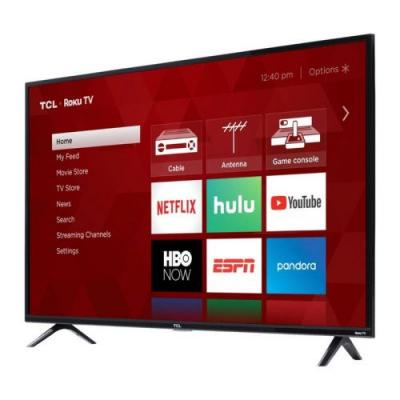 Get Roku built right in and save $100 with TCL's 49-inch 1080p smart TV