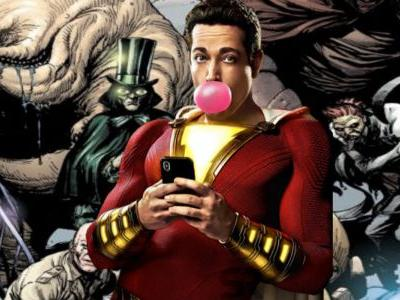 Seven Deadly Sins Confirmed For Shazam! Movie