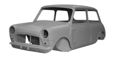 Brand-New Replacement Bodyshells Now Available For Classic Mini MK1 Models