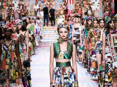 Dolce & Gabbana Takes Inspiration From Handmade Crafts for Spring 2021