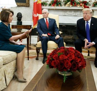 In stunning public clash with top Democrats, Trump says he would shut U.S. government to get border wall funding