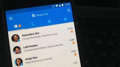 Microsoft launches Skype Lite app for low-bandwidth connections in India