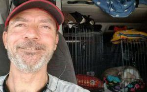 Trucker Drives 64 Shelter Pets Out Of The Path Of Hurricane Florence