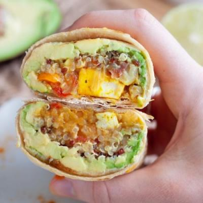 Vegan Breakfast Burrito