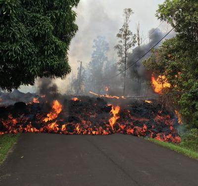 Hawaii lava finally reaches Pacific Ocean - only to create another deadly danger