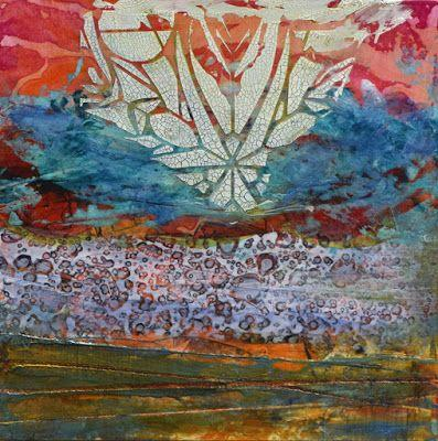 """Abstract Painting, Contemporary Art """"Star Rise"""