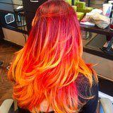 The New Starburst Hair Color Trend Is Deliciously Juicy