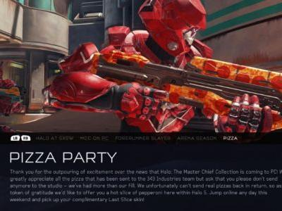 Halo 5 Adds Pizza Skin And More After Halo: MCC Confirmed For PC