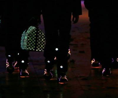 Virgil Abloh Goes Fiber Optic With New Louis Vuitton FW19 Bag and Sneakers