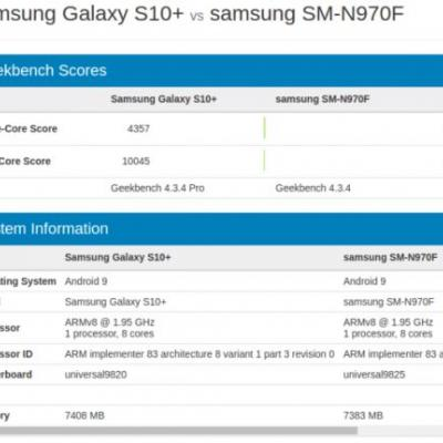 Samsung Galaxy Note10 Will Utilize Exynos 9825, Benchmark Confirms