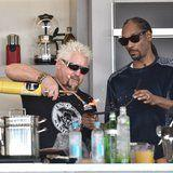 """You Can't Unsee Guy Fieri and Snoop Dogg Make """"Gin & Juice"""" Then Rap About It"""