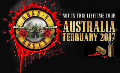GUNS N' ROSES' 'Not In This Lifetime' Tour Has Grossed More Than $230 Million