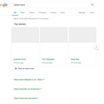 Google Search Results Will Look Naked Under New EU Copyright Laws