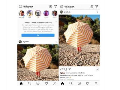Instagram expands change that removes like counts, Twitter starts testing 'Hide Replies'