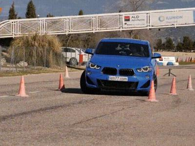 Watch The BMW X2 Savagely Understeer In Moose Test
