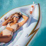 NEED: This Yacht Pool Float Can Chill Your Rosé While You Lounge