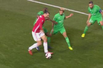 Manchester United vs. St. Etienne | 2016-17 UEFA Europa League Highlights