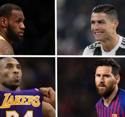 'LeBron James the Ronaldo of basketball, Kobe Bryant the Messi' - NBA star Satoransky