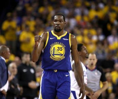 Kevin Durant to Miss Game 1 of the Western Conference Finals