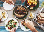 The benefits of a family dinner: Sitting down together forces teenagers into a healthier diet