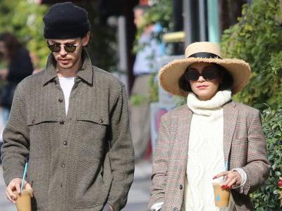 Vanessa Hudgens And Her BF Austin Butler Look Winter Chic While Out In LA