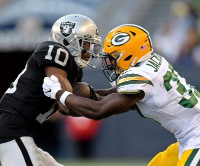 Packers have two players hurt in preseason game vs. Raiders on shortened CFL field