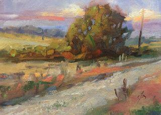 PEACEFUL COUNTRY ROAD by TOM BROWN