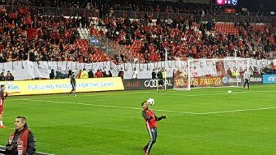 TFC and their fans make early impact on Montreal