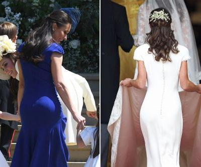 Meghan Markle's friend had her own 'Pippa moment' at the royal wedding