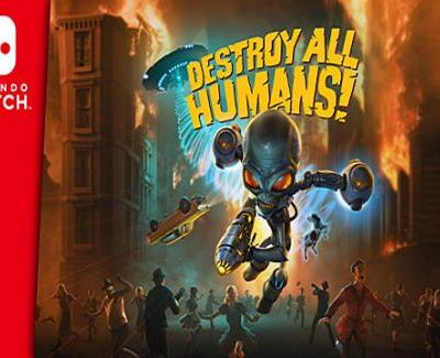 Destroy All Humans Probes Nintendo Switch This Summer