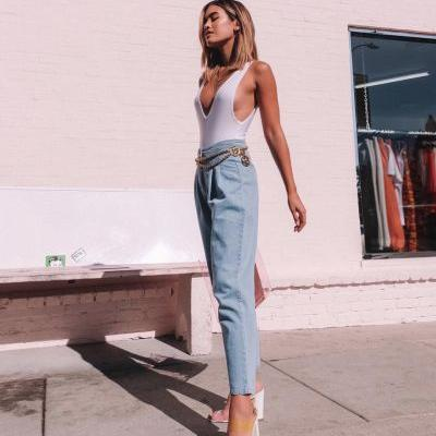 The '80s Denim Trend You're About to See Everywhere