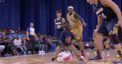 WATCH: Young Fan With Chronic Liver Disease Scores In Celebrity Game