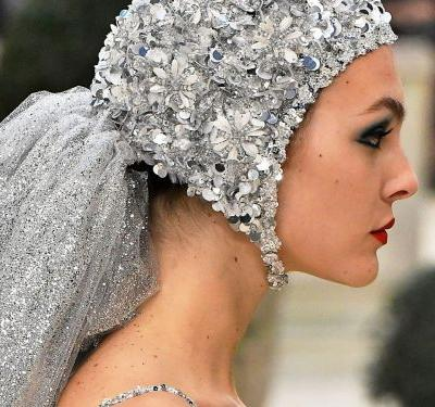 The Chicest Trend At Haute Couture Week? Swimming Caps