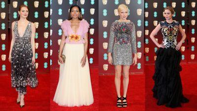 The 11 Best Looks From the 2017 BAFTA Awards