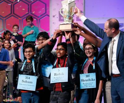 Scripps National Spelling Bee ends in 8-way championship tie