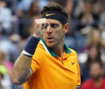 Del Potro buoyed by boyhood friends in quest for second US Open title