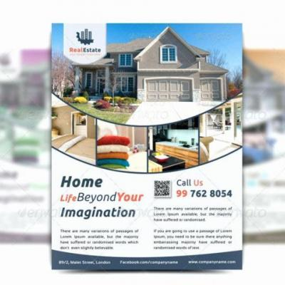 30 New Real Estate Flyer Template Free Pictures