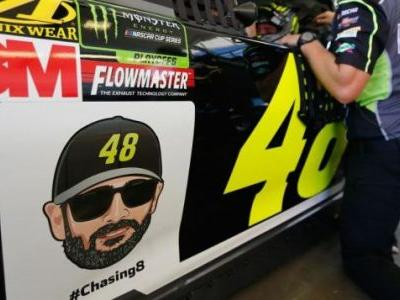 Why in the World Are NASCAR Teams Putting Emojis on Their Race Cars