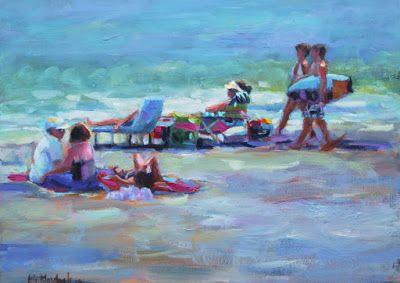 SUN AND SURF REVISITED by ELIZABETH BLAYLOCK