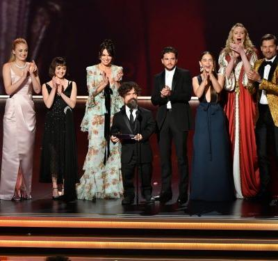 Why 4 'Game of Thrones' stars weren't onstage with the other cast members at the Emmys