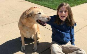 9-Year-Old Boy Takes A Picture With Every Dog He Pets