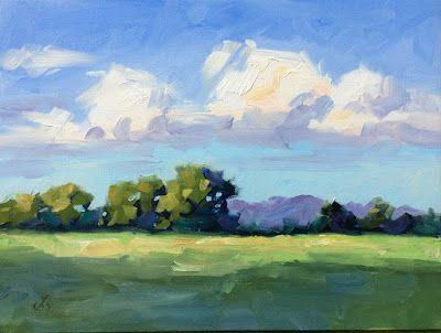 BILLOWING WHITE CLOUDS by TOM BROWN