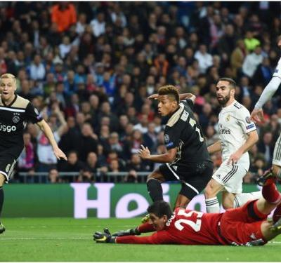 Real Madrid 1 Ajax 4 : Three-year reign ends as holders are humbled