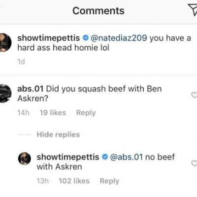 Anthony Pettis says there's 'no beef' with Ben Askren after Jorge Masvidal praise