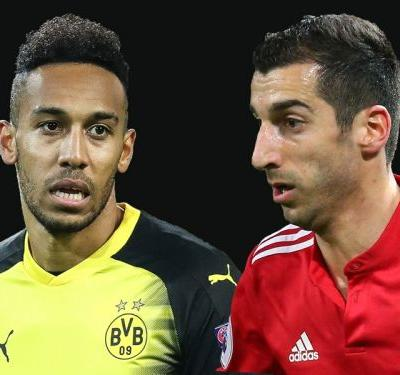 Arsenal confident of securing deals for Aubameyang and Mkhitaryan